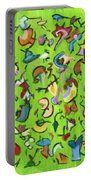 Birds And Bugs Portable Battery Charger