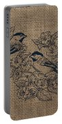 Birds And Burlap 1 Portable Battery Charger