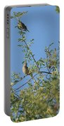 Birds At Peters Canyon Portable Battery Charger