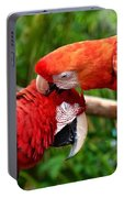 Birds In Love Portable Battery Charger