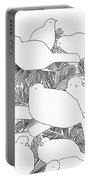 Birds In Pine Portable Battery Charger