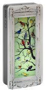 Birds In The Tree Framed Portable Battery Charger