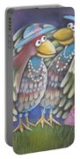 Birds Of A Feather Stick Together Portable Battery Charger