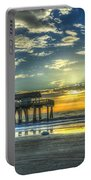 Birds On The Roof Sunrise Tybee Island Portable Battery Charger