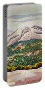 Birdseye Landscape #4 Portable Battery Charger