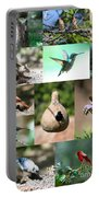 Birdsong Nature Center Collage Portable Battery Charger