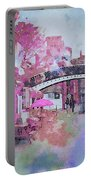 Birmingham Canal Watercolor Portable Battery Charger
