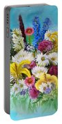Birthday Bouquet Portable Battery Charger