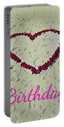 Birthday Card For Lover Portable Battery Charger