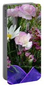 Birthday Flowers Portable Battery Charger