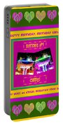 Birthday Girl's Birthday Wishes Portable Battery Charger