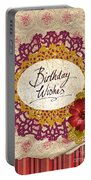 Birthday Wishes Portable Battery Charger