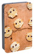 Biscuit Gathering Of Monster Mummies Portable Battery Charger