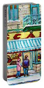 Biscuiterie Oscar Rue Ontario Portable Battery Charger