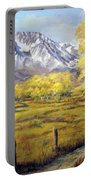 Bishop In The Fall Portable Battery Charger