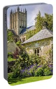 Bishops Palace Gardens - Wells England Portable Battery Charger