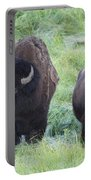 Bison In Love Iv Portable Battery Charger