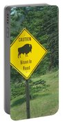 Bison Sign Portable Battery Charger