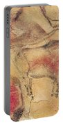 Bisons From The Caves At Altamira Portable Battery Charger by Prehistoric