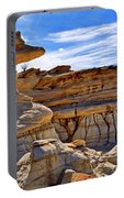 Bisti Badlands Formations - New Mexico - Landscape Portable Battery Charger