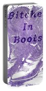Bitches In Boots Portable Battery Charger