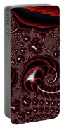 Black And Red Tornados Portable Battery Charger