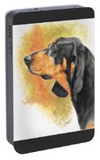 Black And Tan Coonhound Portable Battery Charger