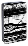 Black And White Art - Layers - Sharon Cummings Portable Battery Charger