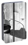 Black And White Barn Fixture 2 Portable Battery Charger