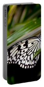 Black And White Beauty Portable Battery Charger