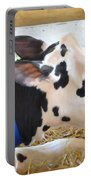 Black And White Cow 2 Portable Battery Charger