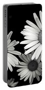 Black And White Daisy 2 Portable Battery Charger