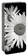 Black And White Daisy 3 Portable Battery Charger