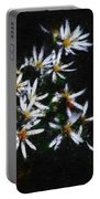 Black And White Study II Portable Battery Charger