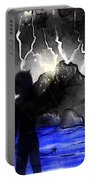 Black Angel Portable Battery Charger