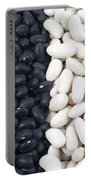 Black Beans And White Beans Portable Battery Charger