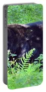 A Florida Black Bear Portable Battery Charger