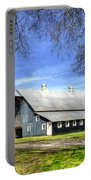 White Windows Historic Hopkinsville Kentucky Barn Art Portable Battery Charger