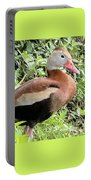Black Bellied Whistling Duck Portable Battery Charger