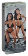 Black Bikinis 4 Portable Battery Charger