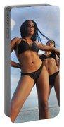 Black Bikinis 66 Portable Battery Charger