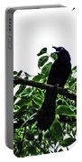 Black Bird Sings Portable Battery Charger