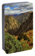 Black Canyon Of The Gunnison - Colorful Colorado - Landscape Portable Battery Charger