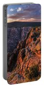 Black Canyon Sunset Glow Portable Battery Charger