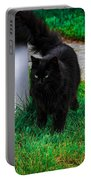 Black Cat Maine Portable Battery Charger