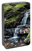 Black Creek Falls In Autumn, 2016 Portable Battery Charger