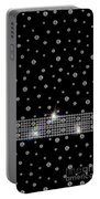 Black Diamonds Jewelry Art Portable Battery Charger