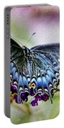 Black Eastern Swallowtail Portable Battery Charger