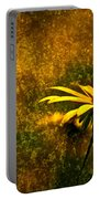 Black-eyed Susan And Granite Portable Battery Charger