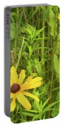 Black Eyed Susan I Portable Battery Charger
